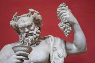 Bacchus, God of wine.